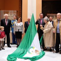 4 de diciembre Homenaje a la Bandera de Andalucía