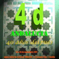 JORNADAS ANDALUCÍA 40 AÑOS DESPUES