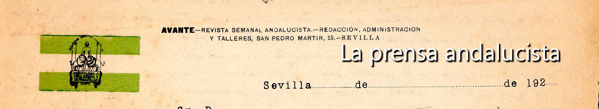 La prensa andaluza